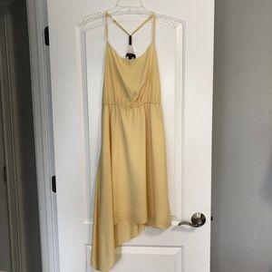 BCBG PARIS SILKY YELLOW DRESS